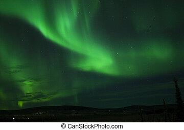 The Christmas Dance of Aurora Borealis (Northern Lights)