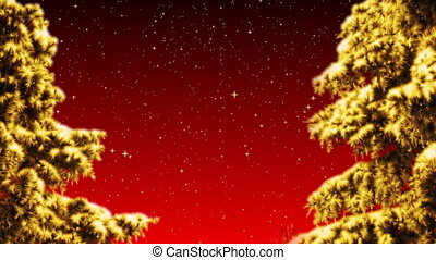 Christmas Background - Christmas background loop animation