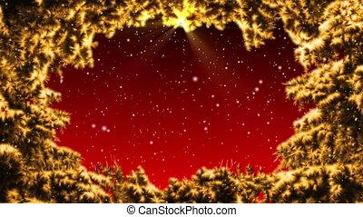 Christmas background loop animation