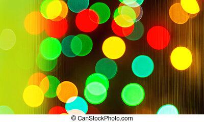 christmas background - Christmas background with colored...