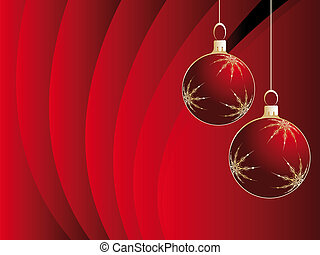 Christmas background - Christmas decorations as symbol of ...