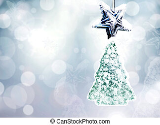 Christmas background. Christmas toy.