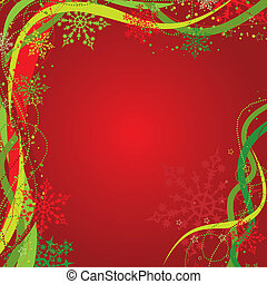 Christmas background decoration, vector