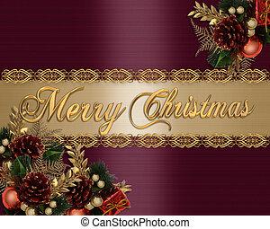 Christmas Background elegant satin