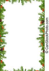 Christmas background. Eve framework - Christmas green ...