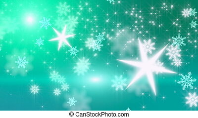 Christmas background , Falling snowflakes, blurred christmas background, happy new year 2