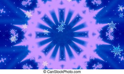 Christmas background , Falling snowflakes, blurred christmas background, happy new year 3