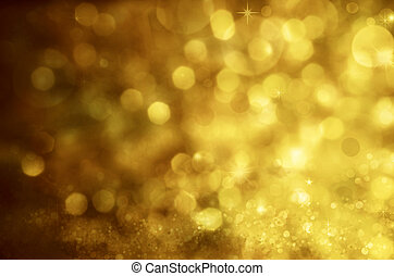 Christmas background. Festive abstract background with bokeh...