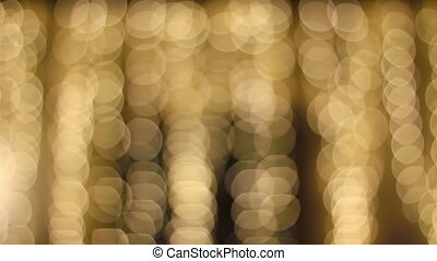 Christmas background. Festive elegant abstract defocused circle with bokeh lights