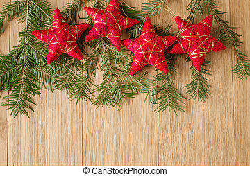 Christmas background for greeting card