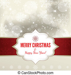 Christmas Background - Illustration
