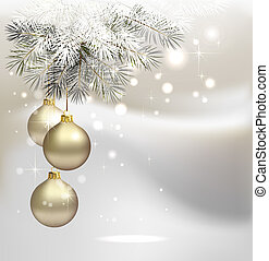 Christmas background - light Christmas background with...