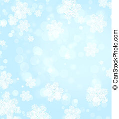 Christmas background of blue color - Abstract christmas...