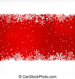 Christmas Background - Red Satin Christmas Lights Background