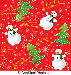 Christmas background red seamless