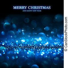 christmas background - shining