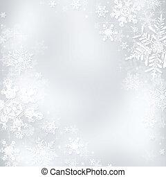 Christmas background - Decorative blue christmas background...