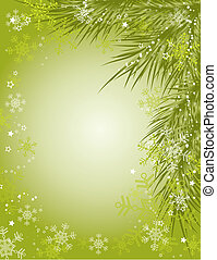 Christmas background, vector illustration