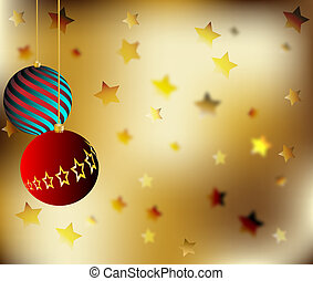 Christmas Background Vector Illustr
