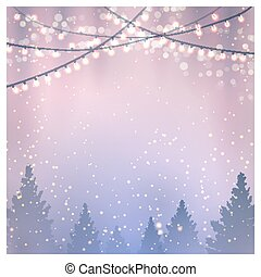 Christmas Background. Vector illustration, eps10