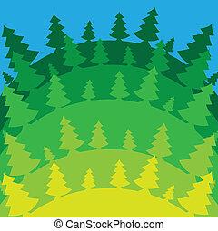 Christmas background. Vector illustration