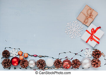 Christmas background winter new year gift nice