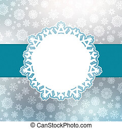Christmas background with copyspace. EPS 8