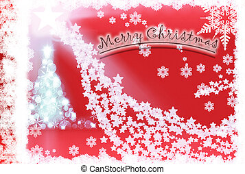 Christmas Background with ornaments2