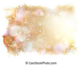 Christmas background with white snowflakes. EPS 10 -...
