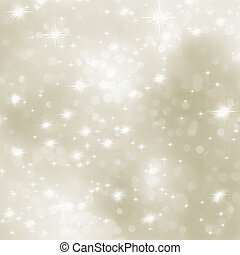 Christmas background with white snowflakes. EPS 8