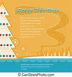 christmas background.Vector illustration