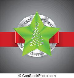 Christmas badge design