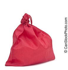 Christmas bag with present