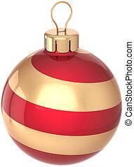 Christmas ball bauble decoration