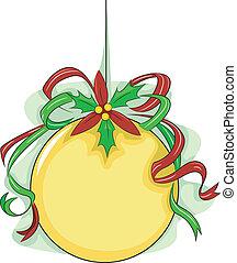 Christmas Ball Board Background