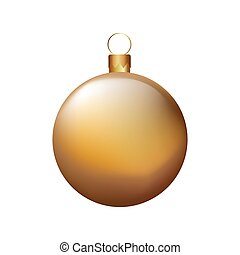 christmas ball decorative icon