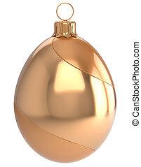 Christmas ball egg New Year's Eve bauble wintertime...