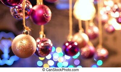 Christmas ball New Year