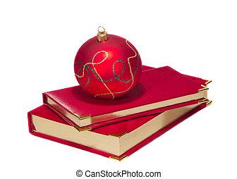 christmas ball on calendars