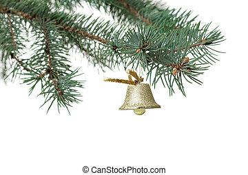Christmas ball on the tree,