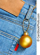 Christmas ball - price tag