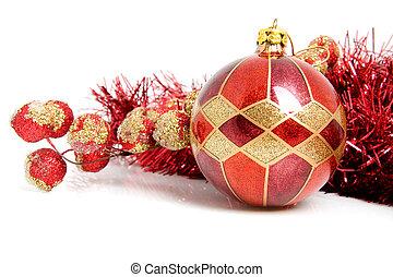 Christmas ball with decoration
