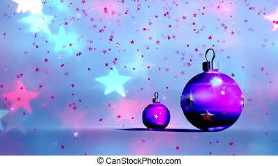 Christmas balls, Christmas background