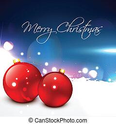 christmas balls - beautiful merry christmas balls design art