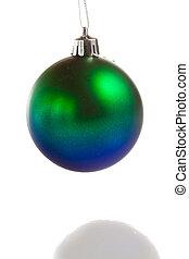 Christmas balls isolated on white backgrouns