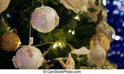 Christmas balls New Year - New Year Decoration on tree