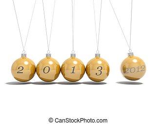 Christmas balls new year's eve 2012 - 2013