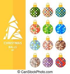 christmas balls set-9