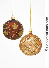 Christmas Balls - Weihnachtskugeln - two very stylish...