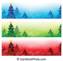 Christmas banners collection 4
